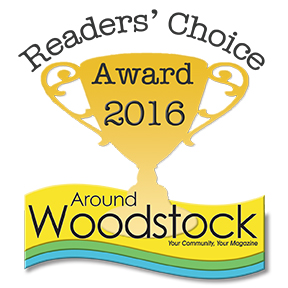 Around Woodstock Reader's Choice Award 2016