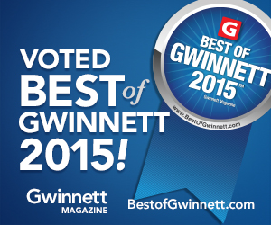 Best of Gwinnett Award 2015