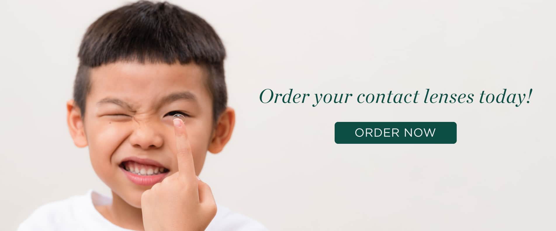 Order your contact lenses today!